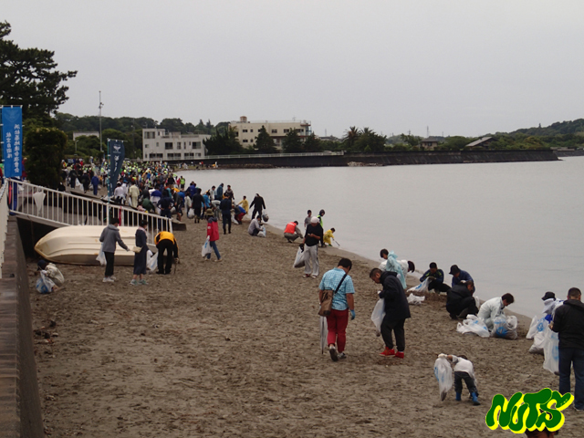 浜名湖クリーン作戦